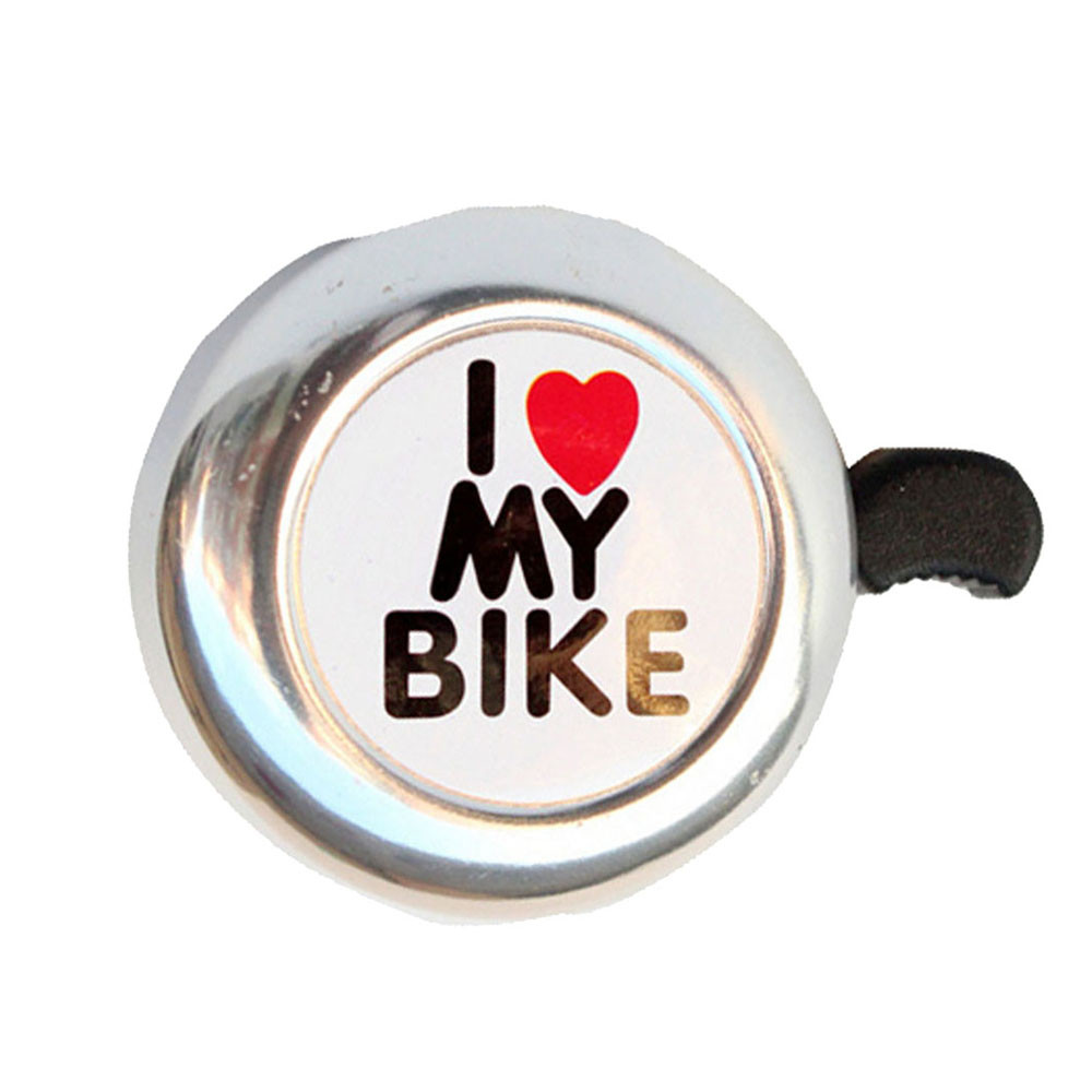 Bicycle Bell Bicycle Bell Heart Alarm Bike Metal Handlebar Horn Bicycle Call Safety Bell Safety Horn For 22 Mm Diameter Handlebar New A30 Cycling