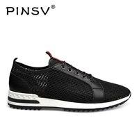 PINSV 2018 Summer Breathable Hollow Shoes Soft Comfortable Men S Casual Shoes Fashion Footwear Shoes Men