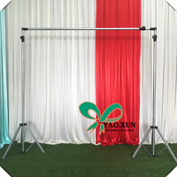 Hot Sale Stronger Wedding Backdrop metal Stand \ Galvanized steel Pipe Stent Free Shipping