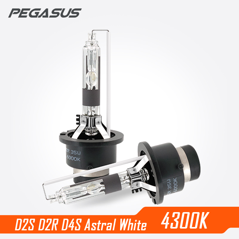 PEGASUS Car Xenon Headlight D1S D2S D3S D4S D2R 2500lm Auto Bulb Headlamp 4300K Bi-Xenon Light велосипед pegasus piazza gent 7 sp 28 2016