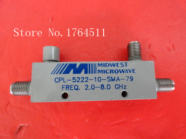 [BELLA] MIDWEST CPL-5222-10-SMA-79 2.0-8.0GHz 10dB SMA Supply Coupler