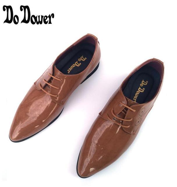 Chaussures De Pour Luxe Robe Cuir Casual En Hommes qE57E