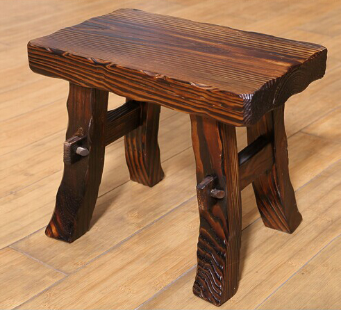 100% Wooden stool,wood furniture,garden style stool,bathroom stool ...