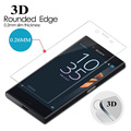 0.26mm 3D Curved Full cover For Sony Xperia X Compact mini Screen Tempered Glass Film F5321 Protective Glass Film free shipping