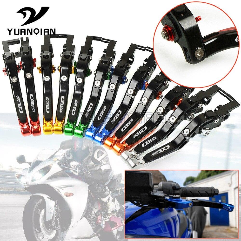 ! CNC Moto Pliable Extensible Leviers D'embrayage De Frein Pour Honda CB500F CB500 F CB 500 F 2013-2018 2017 2016 2015 2014