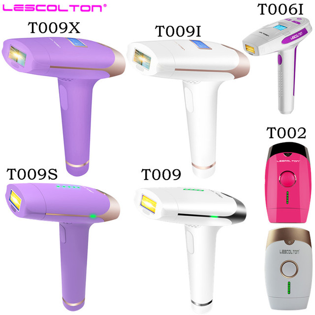 Lescolton series original factory IPL epilator 2in1 laser hair removal machine permanent bikini body underarm for women and men