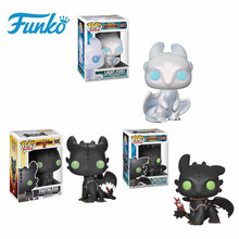 Toothless Funko POP How to Train Your Dragons: #686 #100 Light Fury Model Collectible Action Figure Toys