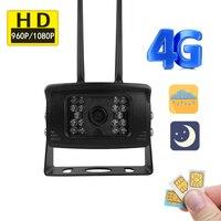 1080 P HD Беспроводной 4 г GSM sim карты Водонепроницаемый автомобиля камеры Wi Fi android SD карты ночь ИК CCTV Cam security APP для удаленного доступа