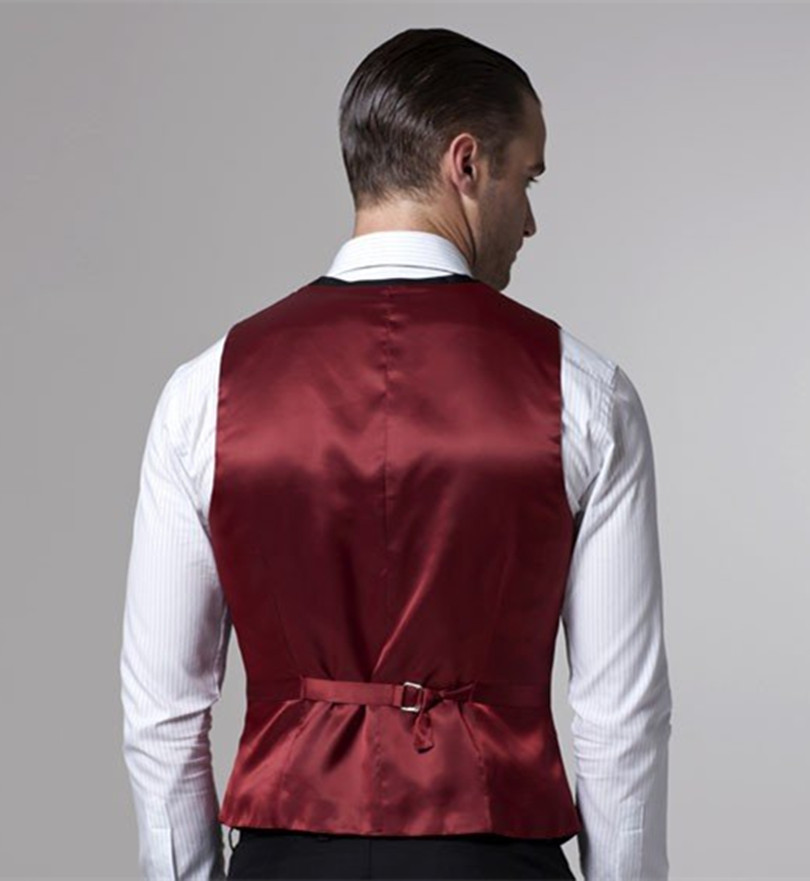 groom vest for wedding dinner slim fit groom wear black men vest 2018 free shipping