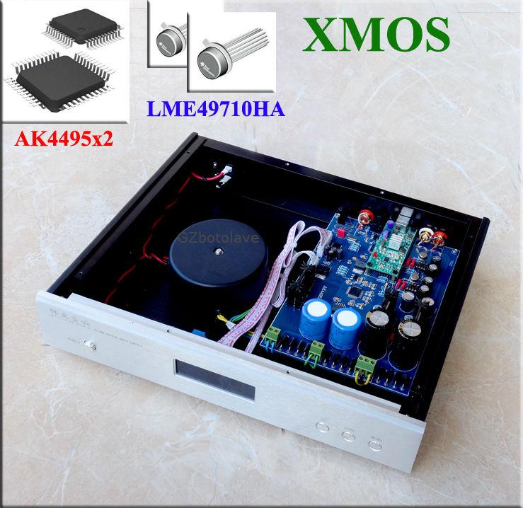 все цены на Dual AK4495 DAC AKM AK4495 SEQ AK4118 32bit 384K DSD Hi-Fi DAC W/ LCD Display,Optional XMOS U8 Asynchronous USB DAC онлайн