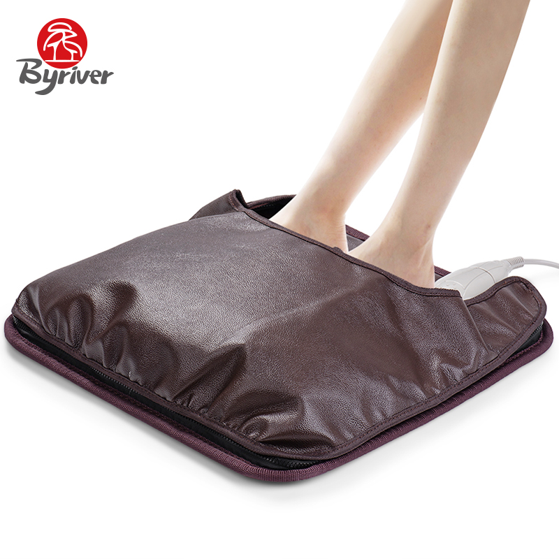 BYRIVER  45*45CM Real Tourmaline Stone Seat Cushion, 2 IN 1 Seat Foot Heating Mattress,  Relax Foot Care MassagerBYRIVER  45*45CM Real Tourmaline Stone Seat Cushion, 2 IN 1 Seat Foot Heating Mattress,  Relax Foot Care Massager