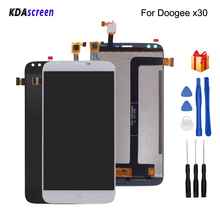 Original For Doogee X30 LCD Display Touch Screen Digitizer Replacement For Doogee X30 Screen LCD Display Phone Parts Free Tools
