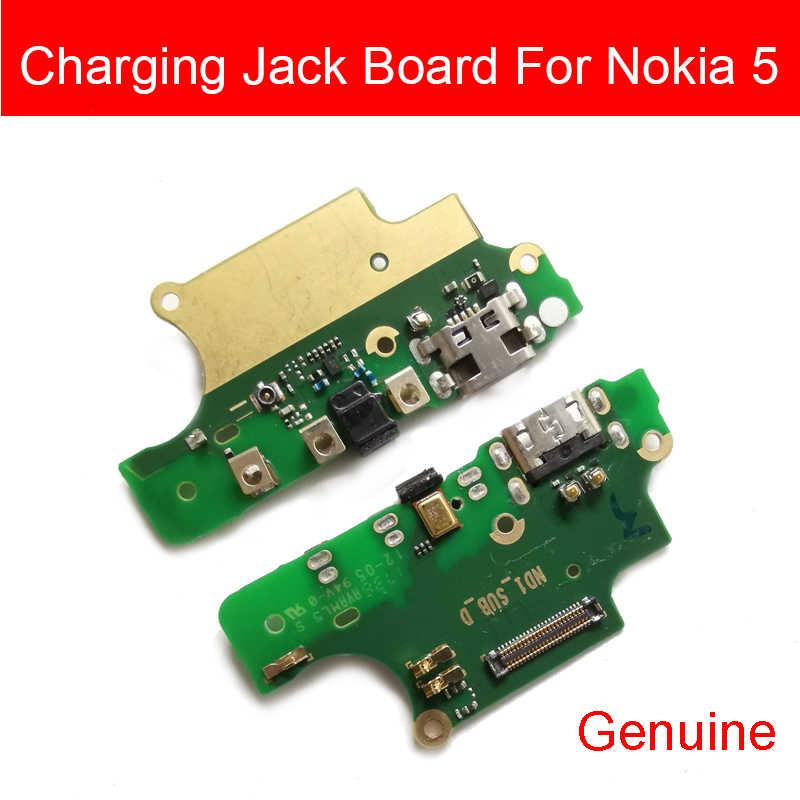ميكروفون و شاحن يو اس بي مجلس لنوكيا 5 N5 تا-1053 تا-1021 تا-1024 USB محطة منفذ شحن المكونات وصلة مرفاع الكابلات المرنة أجزاء