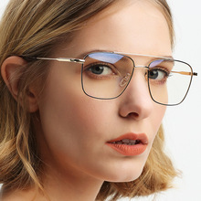 Cubojue Vintage Glasses Men Women Gold Black Eyeglasses Frame Man Female Prescription Spectacles Diopter Eyeglass Retro fashion pvc frame spectacles eyeglass black