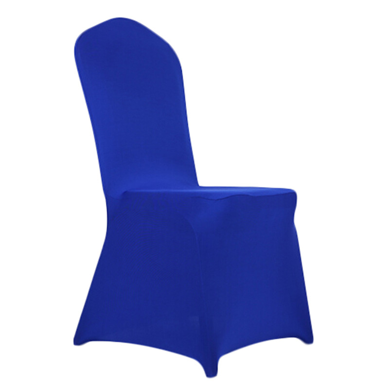 Chair Cover Home Decoration Solid Colors Polyester Spandex Dining