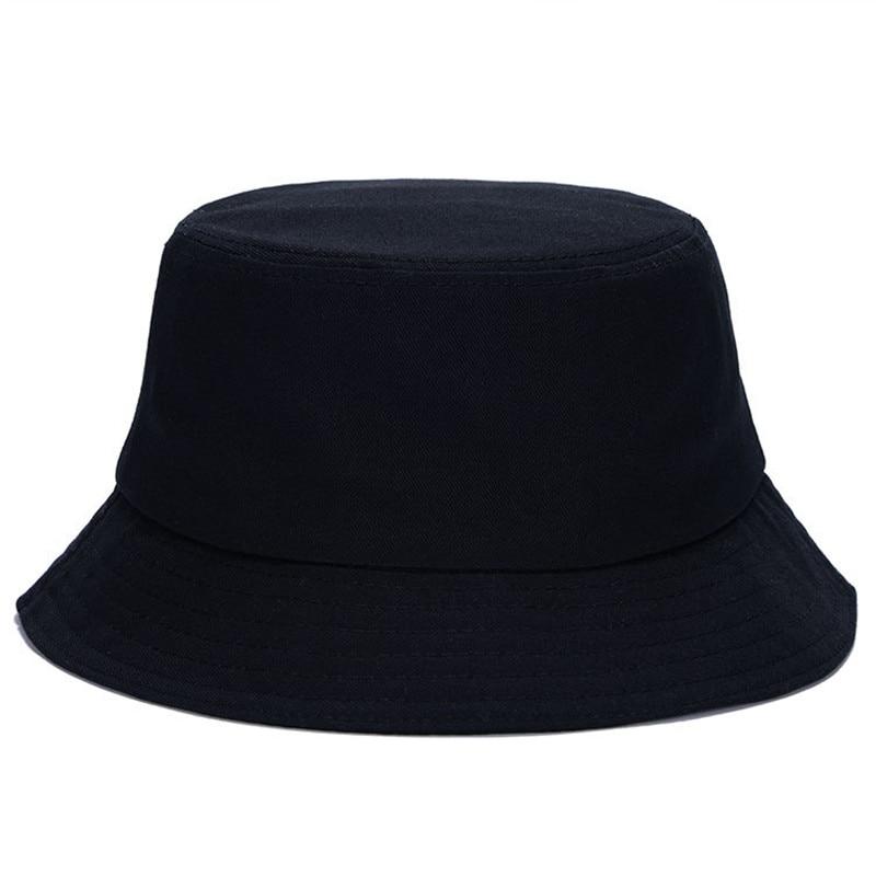 10 barev bavlna letní černá bílá pevná kbelík klobouk venkovní sluneční čepice cestovní Boonie turistika příležitostná rybářská čepice pro muže ženy