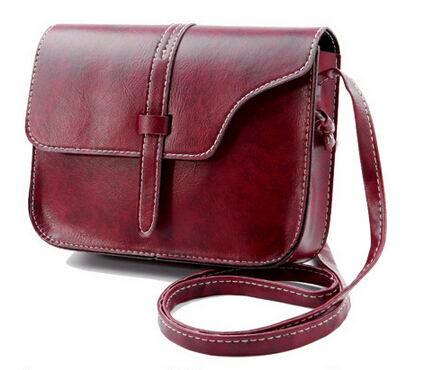Women Messenger Bags Famous Brand Vintage Retro Women Crossbody Bag Small PU Leather Handbags 835#