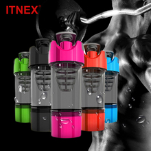Protein Shaker Pro 40 Whey Sports Nutrition Blender Mixer Cup Fitness GYM For Powder Water Bottle