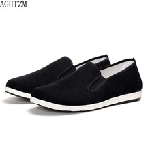 AGUTZM New Arrival Slipony Men Fashion Sneakers Flats Casual Shoes Denim Canvas Nice Comfortable Loafer Q51