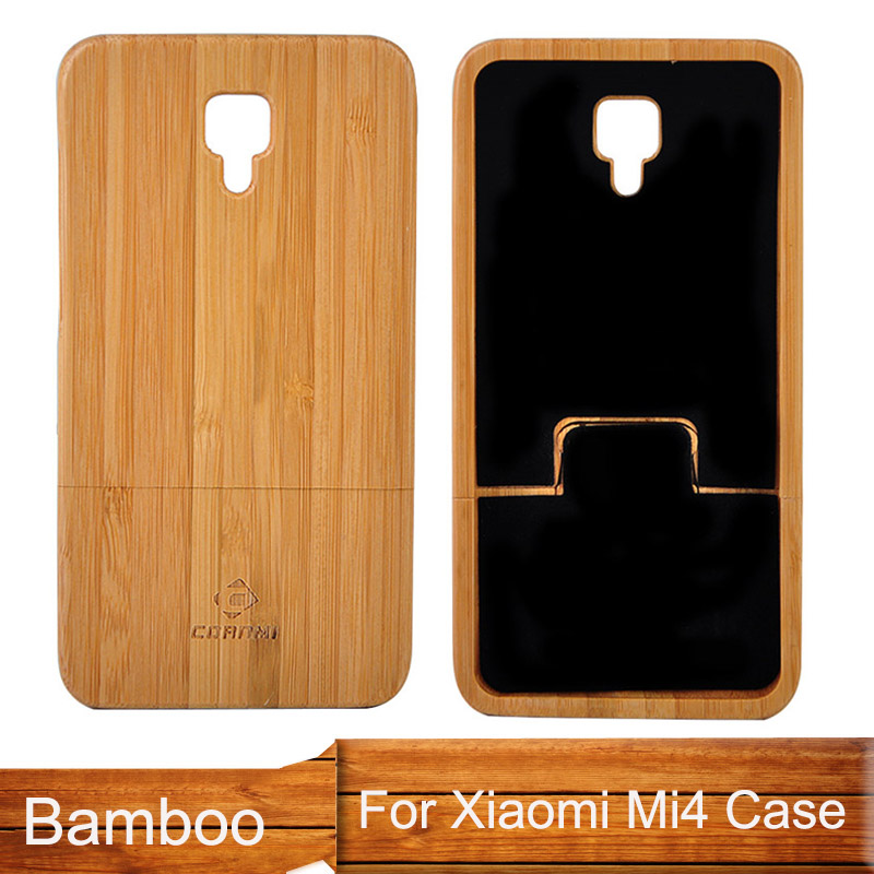 quality design 9b2ac 09664 US $8.12 |NEWOER High Original Wood Case for Xiaomi Mi4 Mi 4 Bamboo Back  Cover for Xiaomi Mi 4 Housing Replacement Mobile Phone Cases-in Phone Pouch  ...