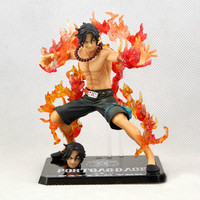 ONE PIECE Battle Page ZERO Fire Boxing Ace Portgas D Ace Box packed Anime Model Anime Action Figures Flame