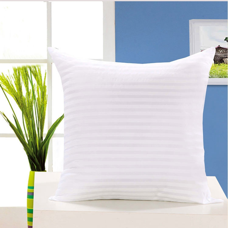 1PC Standard Cushion Core  Polyester Pillow Inner Filling Soft Throw Seat Pillow Interior Car Home Decor Insert White All Size