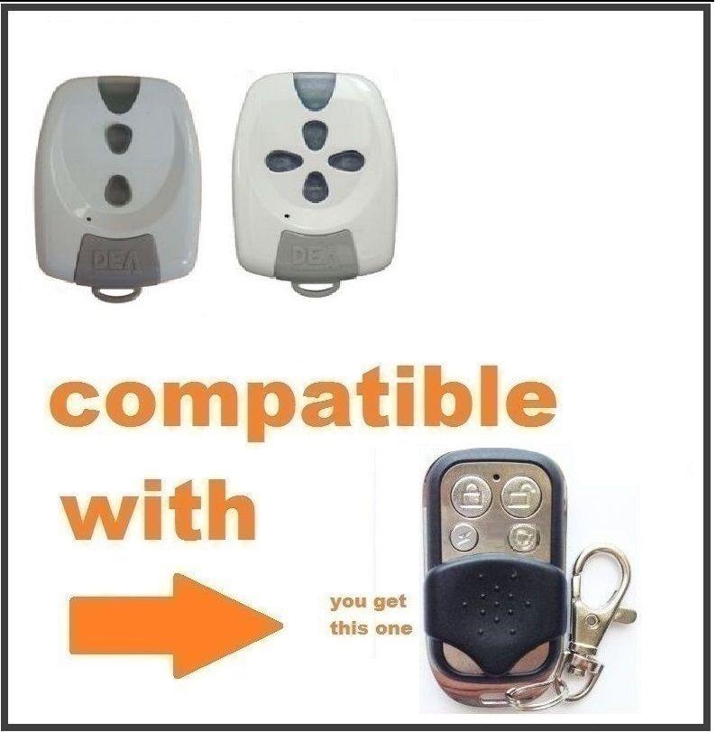 DEA Punto S2, MIO TD2, MIO TD4, Genie,  Gold,  Garage Remote Control Duplicator 433.92mhz Fixed Code
