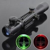 Hunting Rifle Scope Optics 3 9x40 Night Vision Optical Illuminated Sight Aiming Device Sniper Rifle Scope