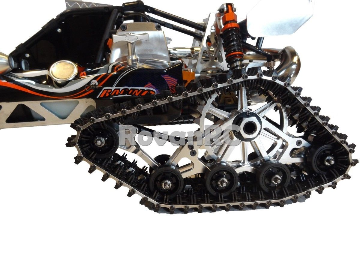 New Rovan Snow Crawler Catepillar Tracks Fits Hpi Baja B Ss T King Motor Buggy