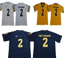 Michigan Wolverines 3 Shea Patterson Stitched College Football Jersey Size  S-XXXL (China) ef779c4b0