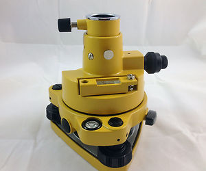NEW Yellow Color Tribrach Adapter W OP Fits Prism Setup