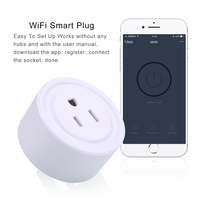 High Quality Mini Smart Wifi Socket US Plug Power Strip Timing For Smart Home Automation Electronic