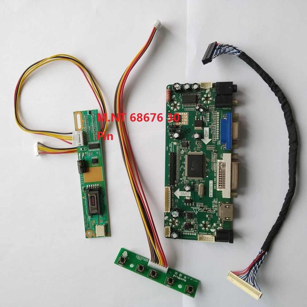 "Zestaw do B133EW01 V2 20pin sygnału VGA 1 u nas państwo lampy LVDS 13.3 ""DVI HDMI 1280X800 kontroler Panel monitor Driver ekran"