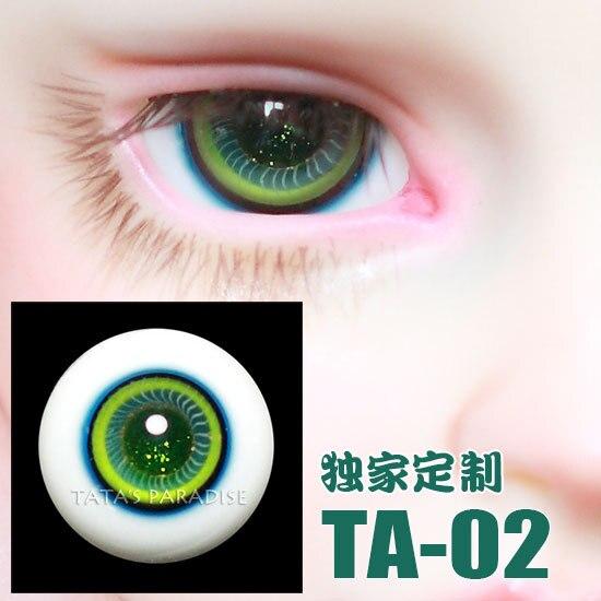 1/3 1/4 1/6 BJD Eyes 14mm/ 16mm  Eyeballs  for SD/MSD/YSD/70CM Ball-jointed Doll  TA-02