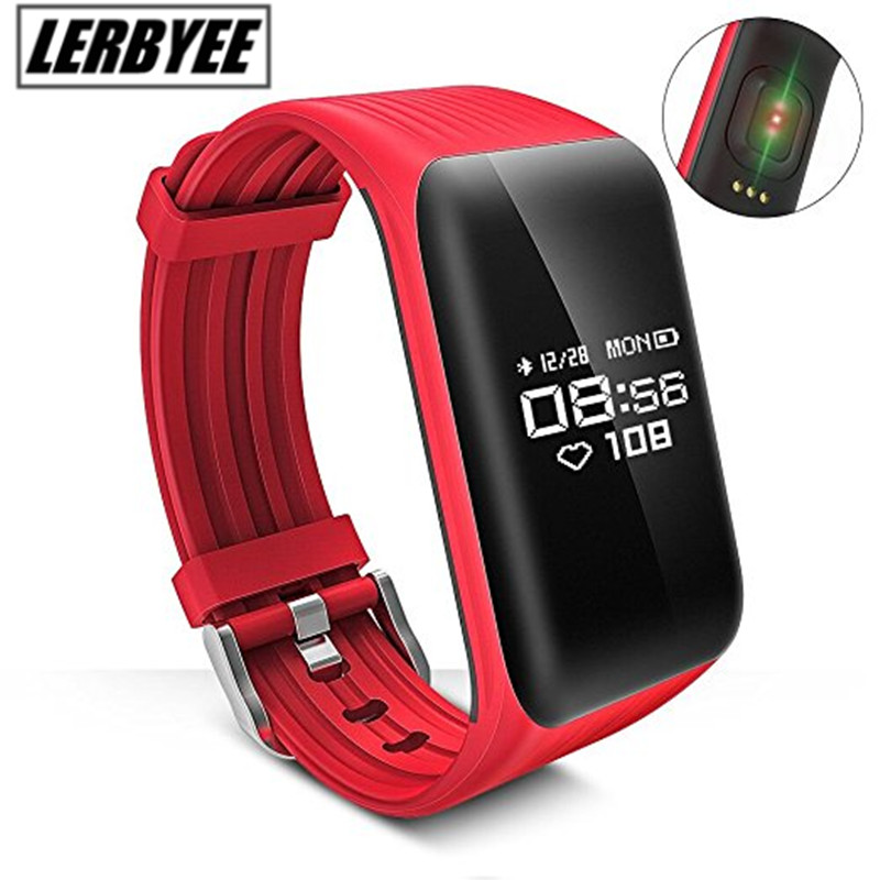 Newest k1 Smart Bracelet Real time Heart Rate Monitor down to Sec Fitness Tracker Waterproof Smart