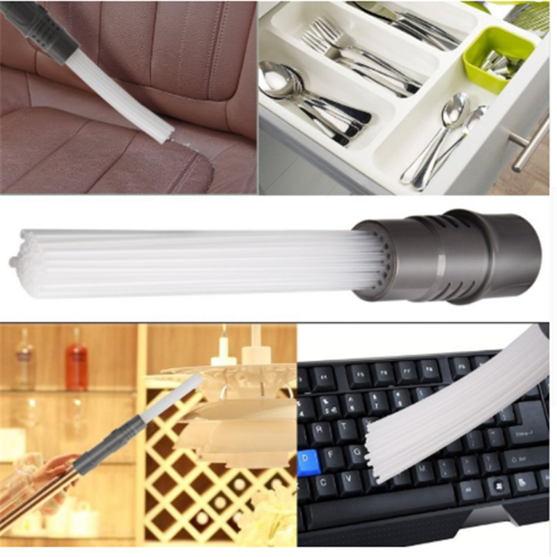 Universal Vacuum Attachments Brush Dust Daddy Cleaner Dirt Remover Home  Multi-functional Cleaning Tool For Air Vents Keyboards