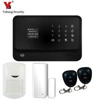 Vocie Prompt App Control Wifi Gsm Security Alarm System Touch Screen Wireless Wifi Alarm System With