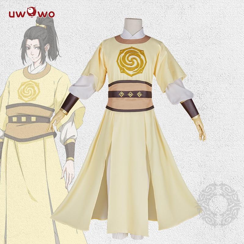 UWOWO Anime Grandmaster of Demonic Cultivation Mo Dao Zu Shi Teenage Jin Zi Xuan Cosplay Costume