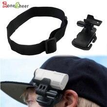 Cabeça cinta clipe de montagem capacete chapéu óculos titular bandana para sony câmera ação HDR AS200V as100v as30v as20v az1 FDR X1000VR
