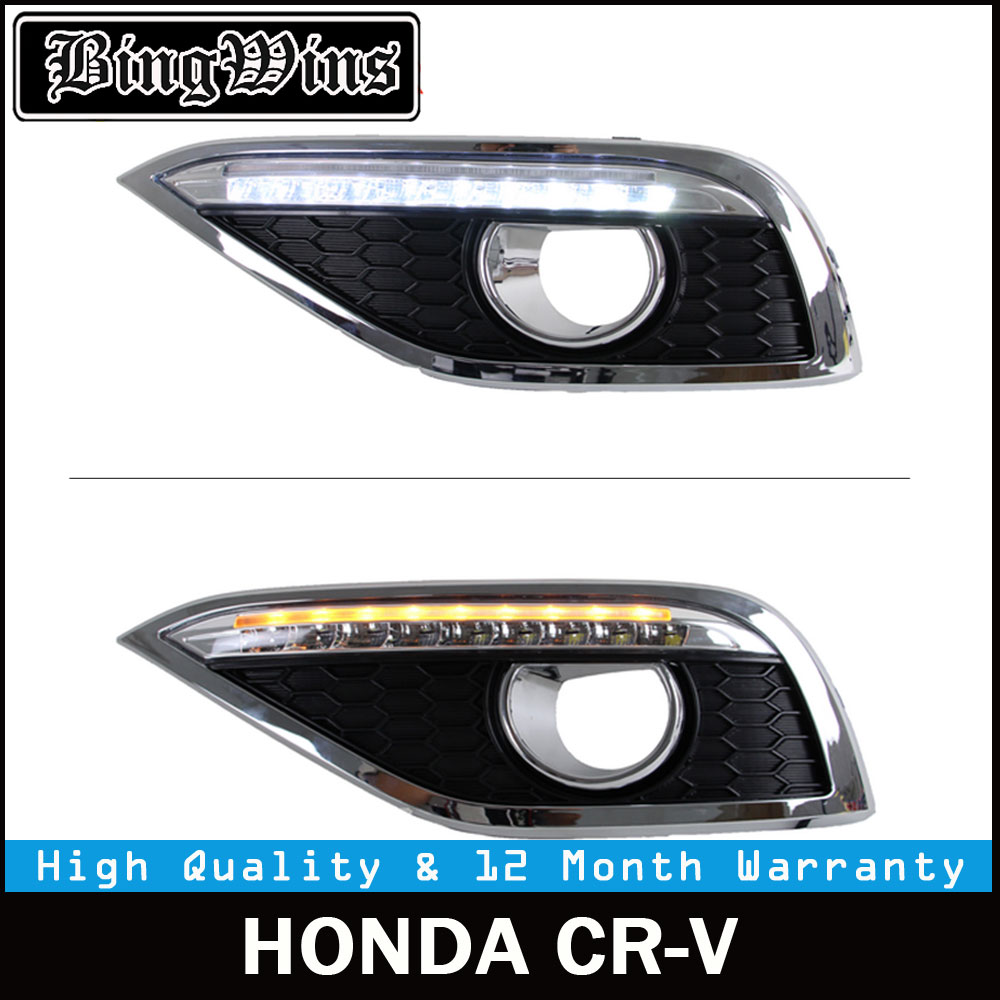 buy for honda crv daytime running lights and get free shipping on aliexpress com [ 1000 x 1000 Pixel ]