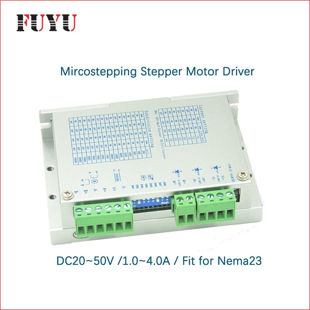 17ce95e2396 Nema23 stepper motor driver para FLS40 FUYU guia de movimento linear