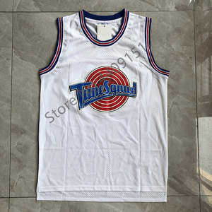 a46e4a189a1b 23 Michael Jordan Youth Tune Squad Space Jam Looney Tunes Basketball Jersey  for Kids