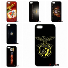 For Samsung Galaxy Note 2 3 4 5 S2 S3 S4 S5 MINI S6 S7 edge Active S8 Plus SL Benfica Logo Football Print Hard Phone Case Cover