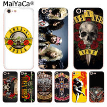 MaiYaCa guns n roses High Quality phone Accessories cover for Apple iphone 11 pro 8 7 66S Plus X 5S SE XS XR XS MAX Mobile Cover(China)
