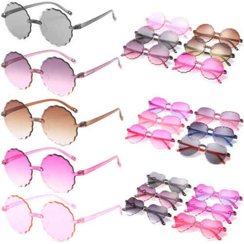 Children kids Boys Girls Ultra-light Sunglasses Shades Holiday UV400 Protection