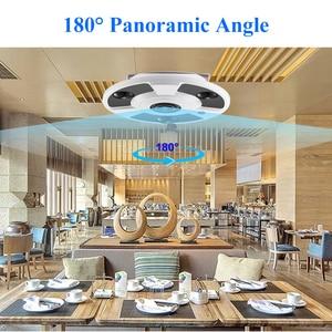Image 5 - Gadinan H.265 IP Camera Audio Mic 1.7MM Fisheye Lens 5MP 3MP 2MP Panoramic ONVIF Surveillance Outdoor Xmeye Could DC12V/ POE 48V