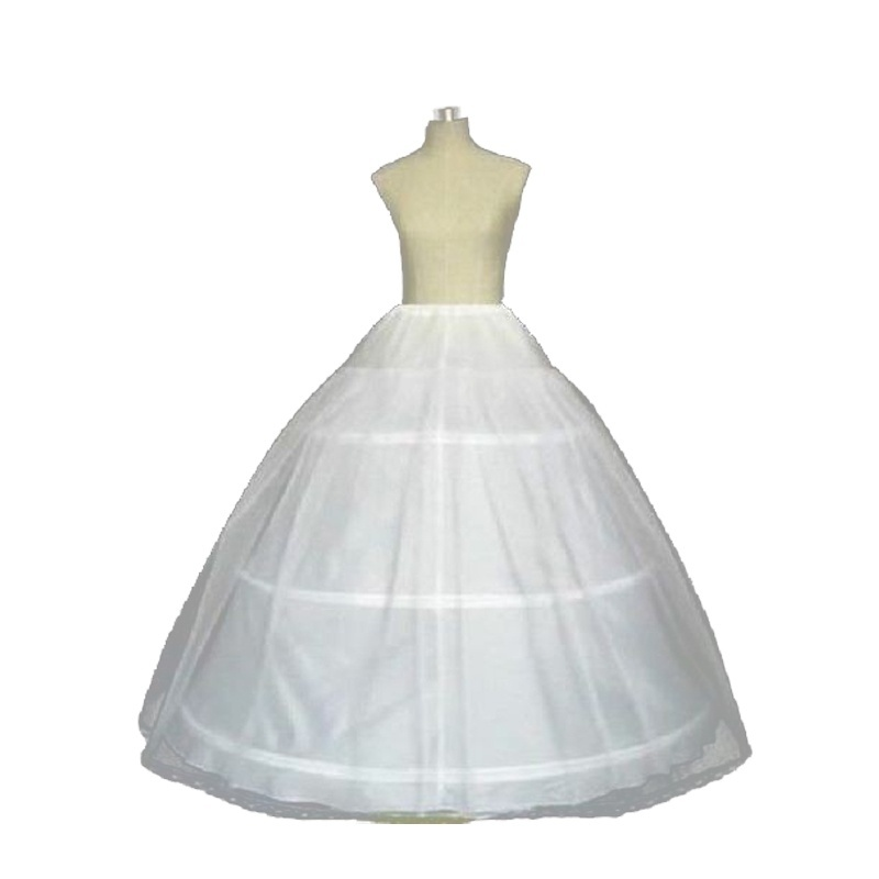 686b31ca8522 Detail Feedback Questions about NEW Hot Sale 3 Hoop Ball Gown Bone Full  Skirt Crinoline Petticoats For Wedding Dress Wedding Skirt Accessories Slip  on ...