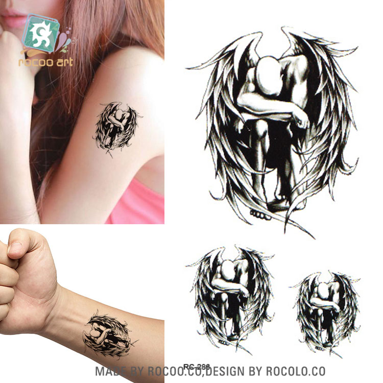 10pcs Tattoo Sleeve Waterproof Temporary Tattoo Stickers Golden Crowns Design Fake Tattoo Wrist Bare Feet Water Transfer Tatoo