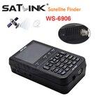 3.5 inch LCD satlink ws6906 satFinder HD DVB-S High Definition Satellite Finder ws-6906 satellite Finder PK Frsat V8 Finder