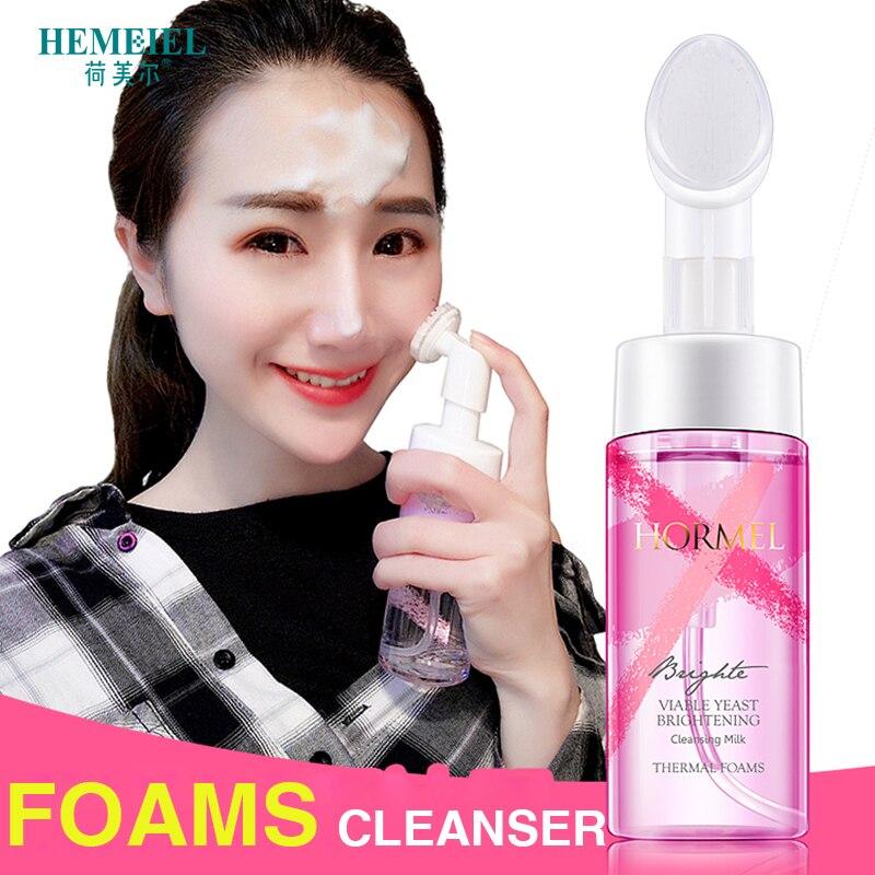 Espuma de Limpeza Coreano Hemeiel Viável Levedura Hidratante